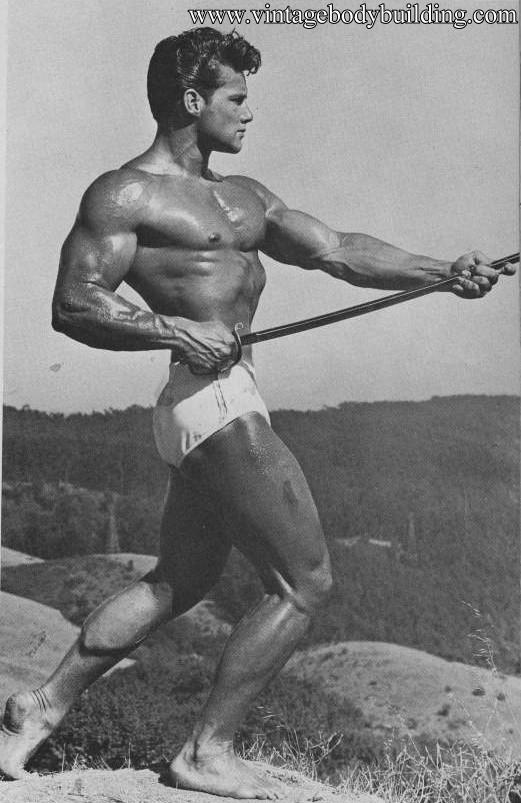 famous bodybuilder Steve Reeves
