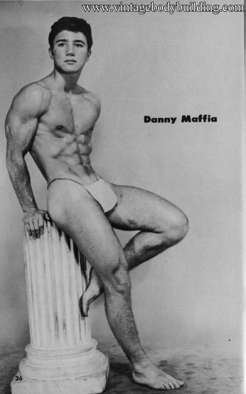 male fitness model Danny Maffia