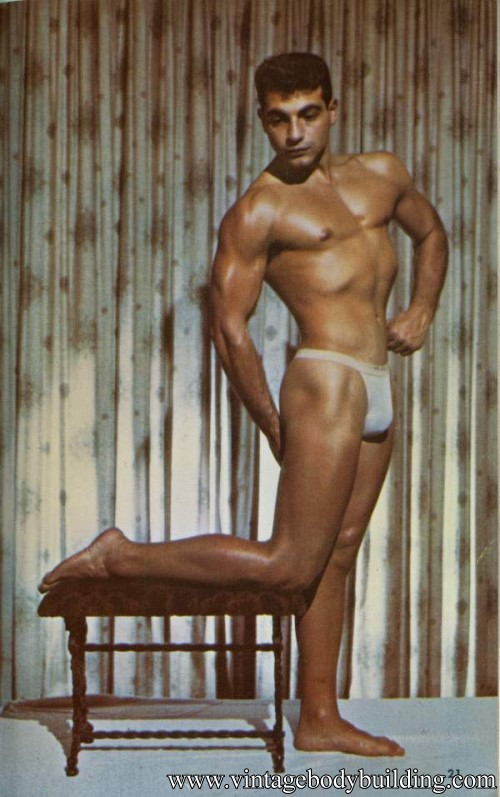 hamdsome muscle man