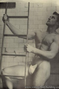 male vintage physique of 1957