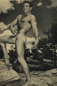 beautiful vintage physique bodybuilder