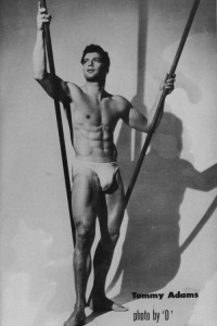 vintage physique muscle man