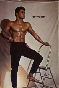 male vintage physique photography in colour