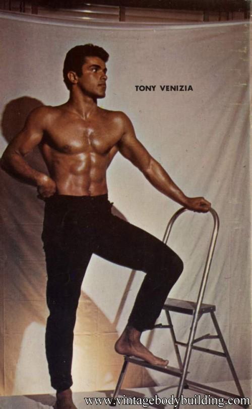 muscle male model Tony Venizia