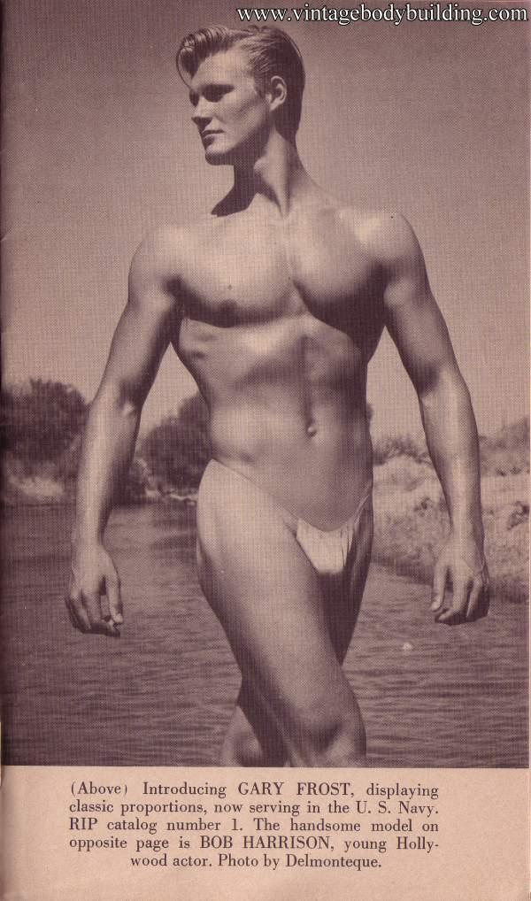 Beautiful male model Gary Frost