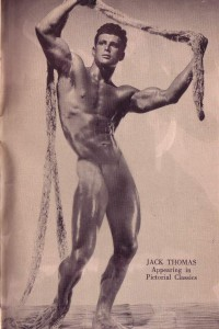 Beautiful photo of vintage bodybuilder