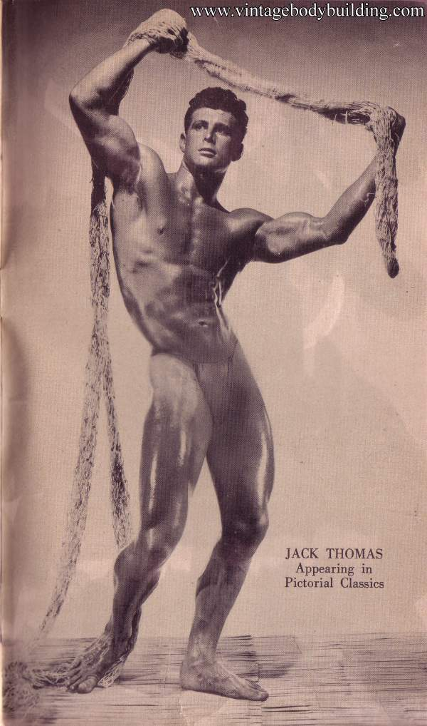 Magnificent bodybuilder Jack Thomas