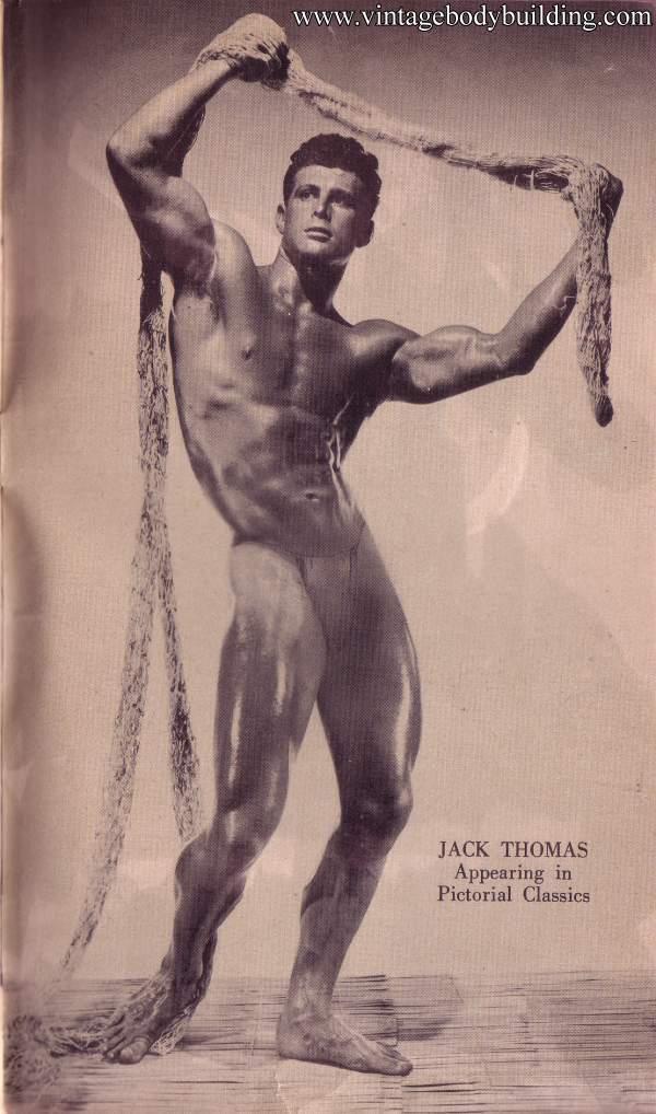 Magnificent bodybuilder Jack Thomas