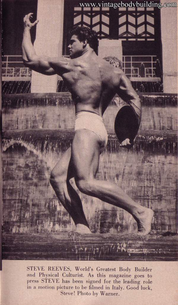 World's Greatest bodybuilder Steve Reeves