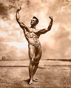 Bodybuilder art prints