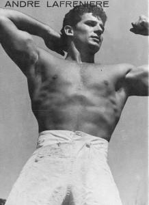 Bodybuilder Andre Lafreniere