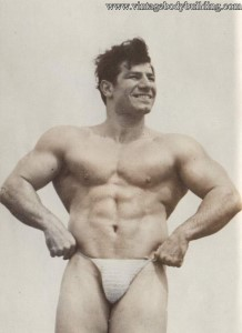 Bodybuilder Buk Bartilian