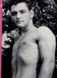 Bodybuilder Dean Roberts