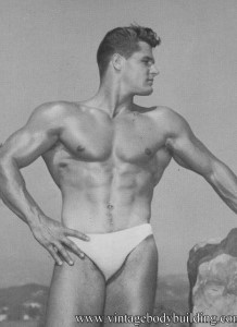 Bodybuilder Dick Dubois
