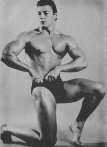 Bodybuilder Mickey Hargitay