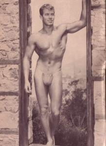 Muscle model Bob Harrison