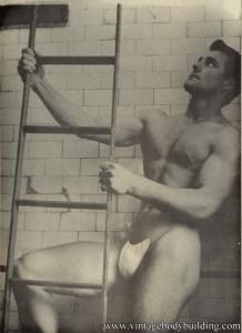 Bodybuilder Norman Hibbert