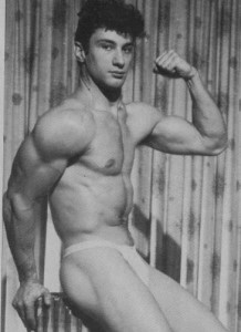 Bodybuilder Bruno Marino