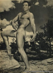 Bodybuilder Ray Mcguire