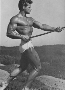 Bodybuilder Steve Reeves