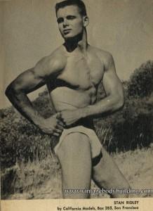 Bodybuilder Stan Ridley