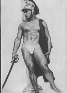 Bodybuilder Elmo Santiago