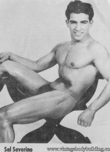 Bodybuilder Sal Saverino