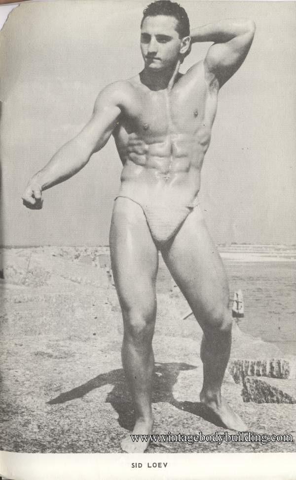 Bodybuilder Sid Loev