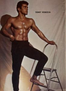 Muscle model Tony Venizia