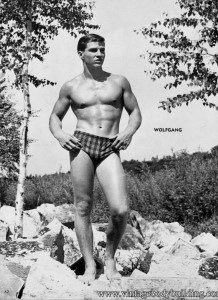 Male fitness model Wolfgang