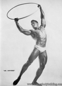 Bodybuilder Paul Wynter